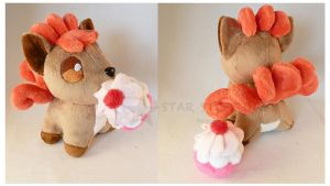 Vulpix Pokedoll by StarMassacre