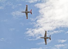 Fouga magisters by werneri