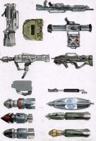Weapons by MartinHanford1974