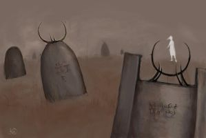 Graveyard by Kaelte