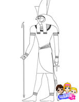 Horus by Writer-Colorer
