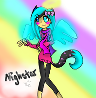 Nightstar - Contest Time. ouo by willowtehwolfeh