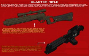 Blaster Rifle Tech Readout [New] by unusualsuspex