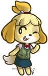 Isabelle by mangriff39