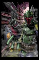 boba fett colors by hanzozuken