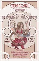 Belly Dance Poster by urielstempest