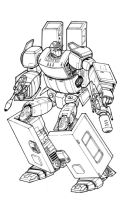 Transformer Bran Inked by Charger426