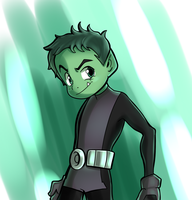 Beast Boy by Parimak