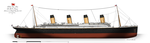 RMS Titanic: Profile. (1912) by alotef
