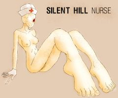 Silent Hill Nurse by CHARLES-COOLINGTON