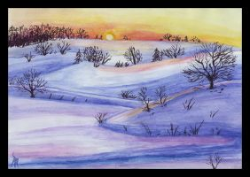 Winter Landscape by snow-jemima
