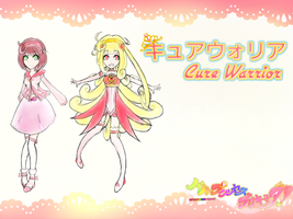 Ozoku Himika-Cure Warrior Profile by SilverRose808