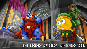 Pacman Fanfic - The Legend of Zelda 1986. by Atariboy2600