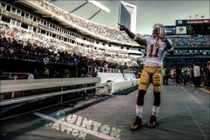 Quinton Patton (Original photo by Perry Knotts) by EngelhartNick