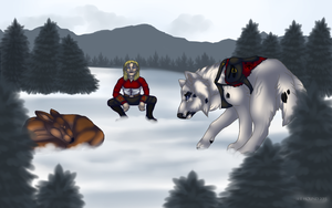 Chilly Rite of the Hunt by She-Hound