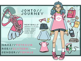 Johto Journey - Petrova by cherifish