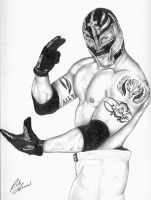 Rey Mysterio Jr by MrTalent