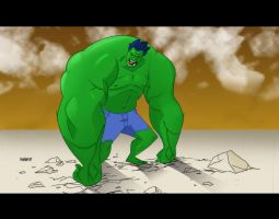 _HULKpencil_by_natemh COLORSme by JestreNyteMare