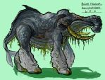 Whalephant Concept 1 by Biodin