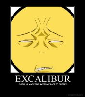 EXCALIBUR FROM SOUL EATER IS.. by shortinpretty