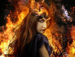 princess of fire by lupographics