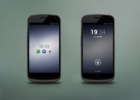 Colored Galaxy Nexus by diggedy
