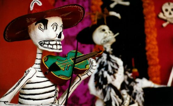 Day of the Dead: Mexico by ahwehcafe