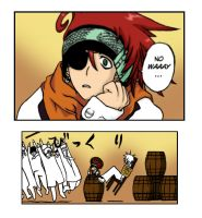 Lavi in a barrel - DGM by chaoskitty1257