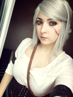 Ciri - The Witcher 3 by Dragunova-Cosplay