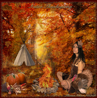Native Thanksgiving by MisssBarbie