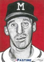 Warren Spahn by machinehead11