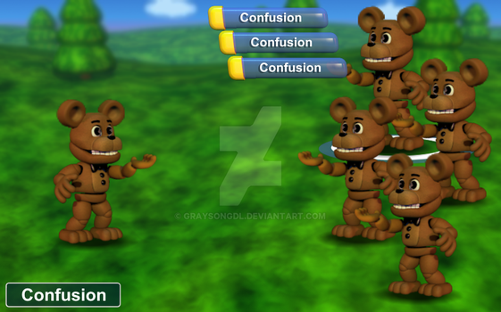 FNaF World Edit: Bingo by Graysongdl