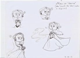 Little mermaid- me as Vanessa by ButtonGirl013