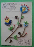 Quilling - Card 14 by Eti-chan