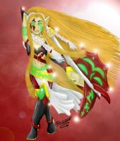 Blood Elf Fel Warrior by Kirita-Windwalker