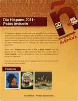 Dia Hispano 2011 Journal by Thiefoworld