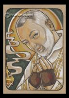 Saint Padre Pio by natamon