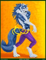Famous Wolves - Jon Talbain by Gerardson