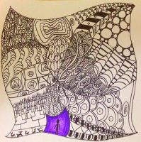 Zentangle by Kuumone