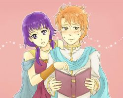 sacred stones - BOOKWORMS by DreamerTakako