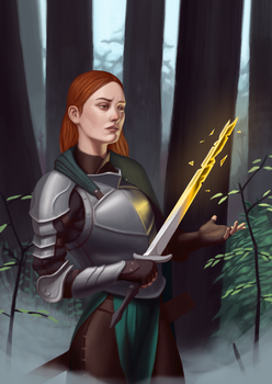 Glow sword by CChhim