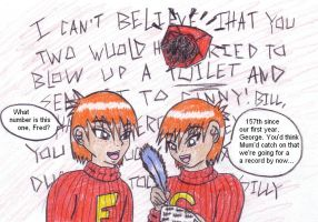 Fred, George and a Howler by Weasley-Twins-Anon