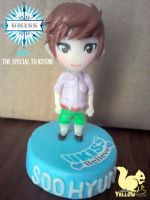 Ukiss SooHyun The Special to Kissme Polymer clay by yuisama