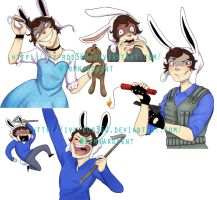 Commissions: SamGladiator by Ivy-Ros360