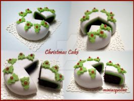 Christmas Cake by miniacquoline