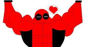 MS-PAINT:Deadpool by haggith