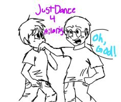 Just Dance 4 Hilarity Duet by flamingkitty900