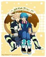 DMMd : Takoyaki Love by Katkat-Tan