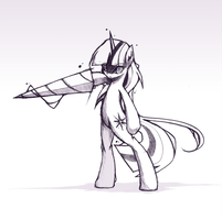 twilight drill sketch by derpiihooves
