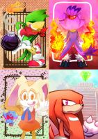 Sonic Gang by zazaKUN011